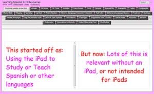 Image of LiveBinder example