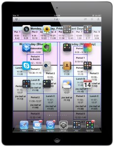 Screenshot – Frame Maker iPad App and School Schedule as iPad Wallpaper | wild for web 2.0